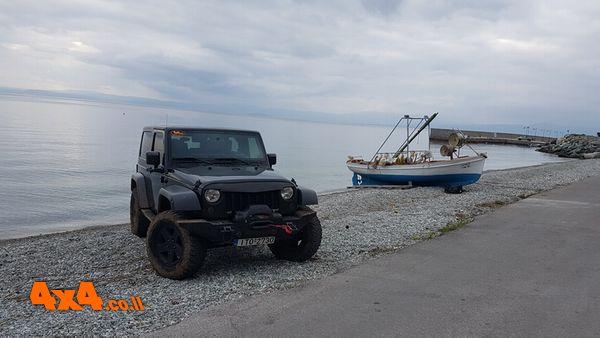 מסע ג'יפים אל האי אוויה - יוון