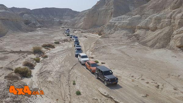 מסע חוצה ישראל לג'יפונים ללא הילוך כוח - אביב 2021 בהדרכת קובי בצלאל