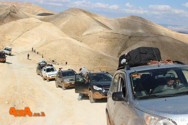 מסע חוצה ישראל אתגרי לרכבי שטח 4X4 ללא הילוך כוח - פסח 2020