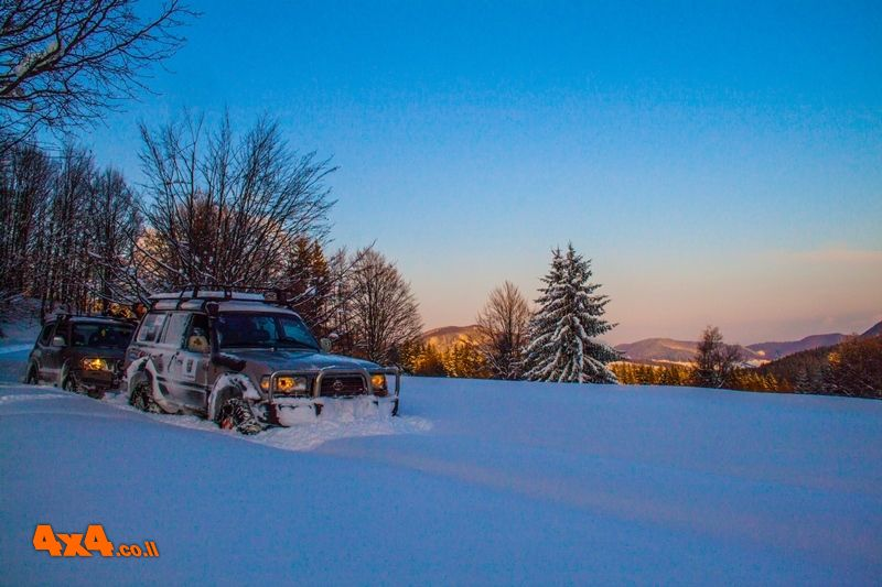 רומניה - טיול ג'יפים חורפי ואתגרי בנהיגה עצמית - דצמבר 2019 - 12/12/2019
