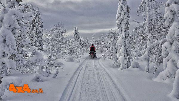 ספארי אופנועי שלג אקסטרים - שוודיה