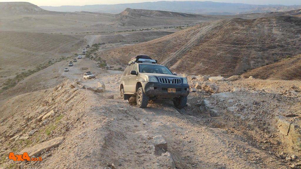 מסע חוצה ישראל לרכבי שטח עם הילוך כוח בלבד - 5 ימים - פסח 2020 - 10/04/2020