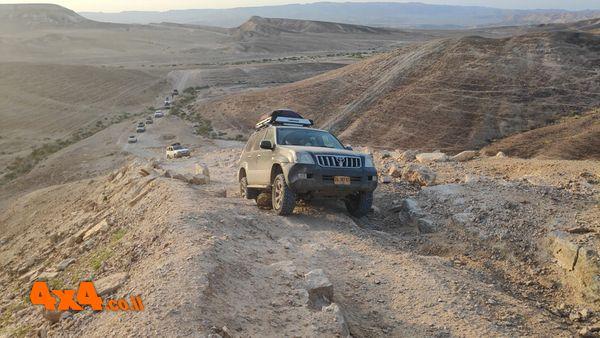 מסע חוצה ישראל לרכבי שטח עם הילוך כוח בלבד - 5 ימים - פסח 2020