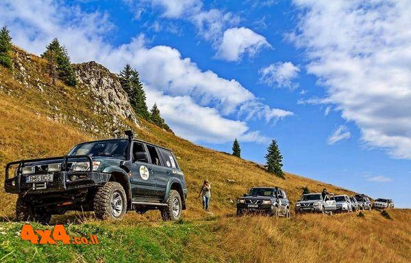 רומניה - מסע פורץ דרך! - מסע ג'יפים אתגרי בנהיגה עצמית