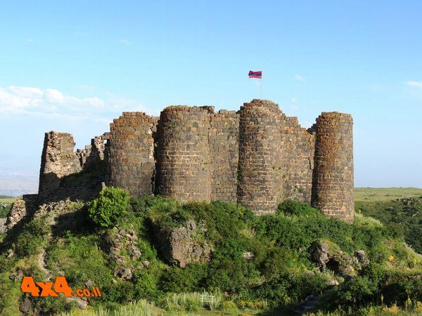 ארמניה לג'יפאים  - מסע פתיחת ציר