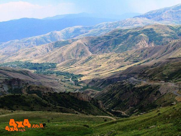 ארמניה לג'יפאים  - מסע פתיחת ציר - סוכות 2020