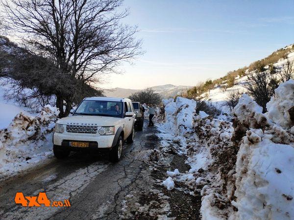 מסע אתגרי להרי השלג ומפלים ברמת הגולן