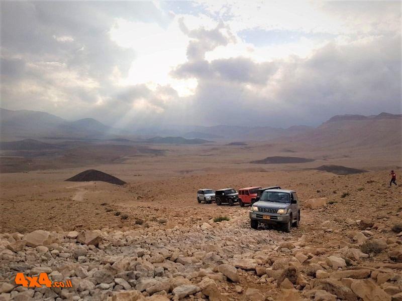 יומיים במדבר – מהערבה למכתש רמון  - 22/05/2020