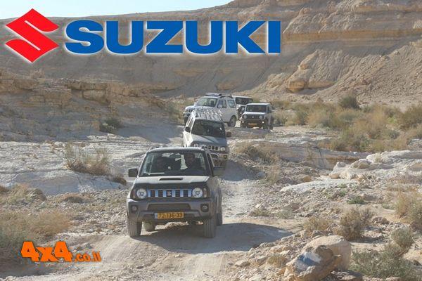 טיול מועדון סוזוקי SUZUKI  -  אל עין עקב בקעת צין והמכתש הגדול
