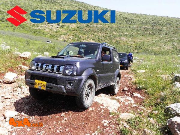 טיול מועדון סוזוקי SUZUKI  - לשממה של מרכז מדבר יהודה