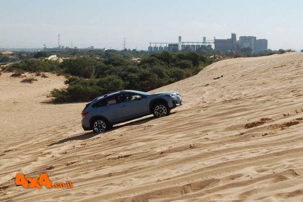 הדרכת נהיגה בשטח - חולות לרכבי סובארו
