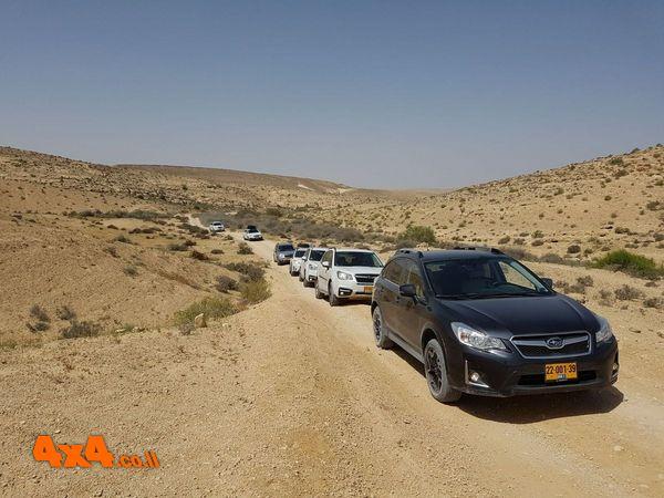מסע חוצה ישראל בעבירות קלה  - לרכבי סובארו בלבד