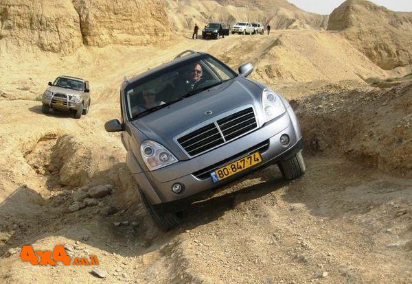 טיול פתיחת ציר במדבר יהודה