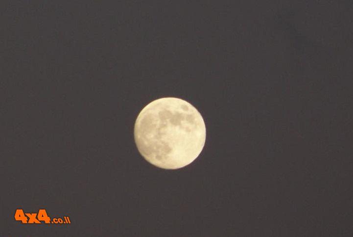 טיול ירח מלא וסדנת בישול בטבע