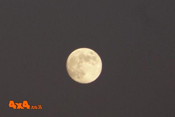 טיול ירח מלא וסדנאת בישול בטבע