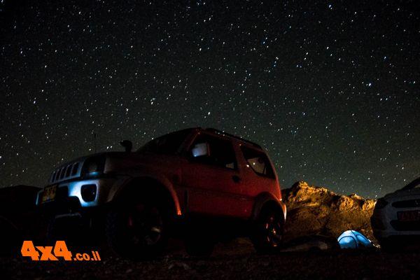 מעלות וכוכבים במכתש הגדול