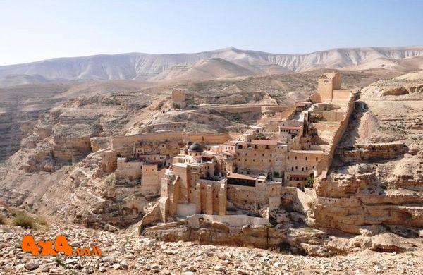 מוואדי קלט למנזר המרסבא