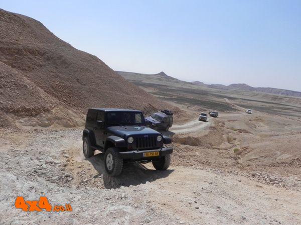 טיול יומיים במדבר