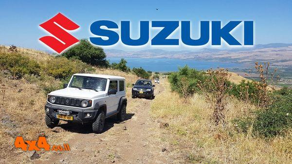 טיול מועדון סוזוקי SUZUKI מעיינות ברמת הגולן