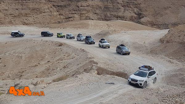 מסע חוצה ישראל בעבירות קלה עד בינונית - סוכות 2021 בהדרכת קובי בצלאל