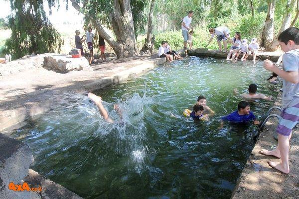 טיול מים לחג המים בדרום רמת הגולן - 14/05/2021