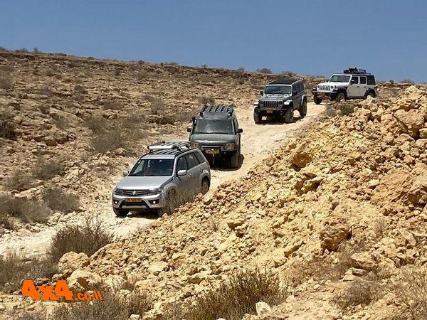 טיול יומיים במדבר - בין המכתשים