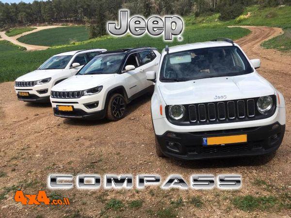הדרכות נהיגת שטח לרכבי קומפאס - מועדון ג'יפ JEEP