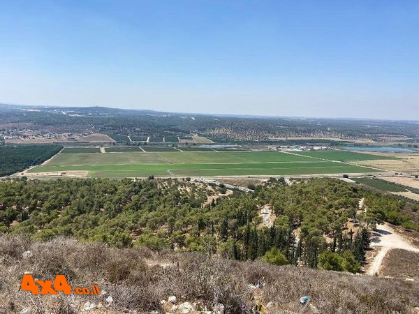 טיול רכבי הנעה קידמית 2X4 בשפלת יהודה