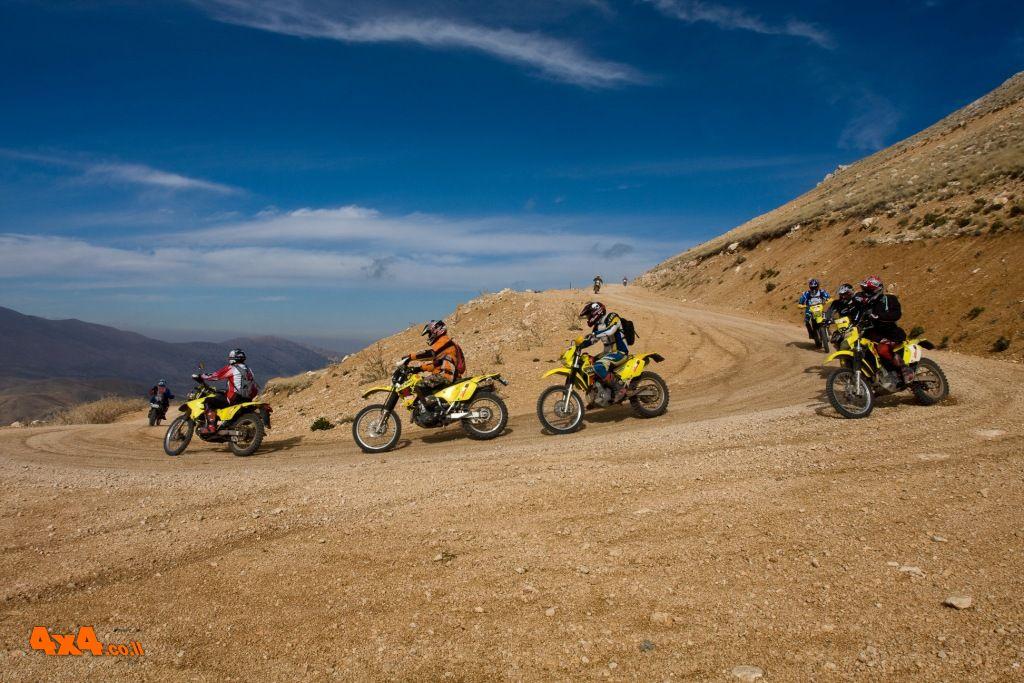טורקיה - אופנועים: 4 ימים ברכס הטאורוס על אופנועי DRZ