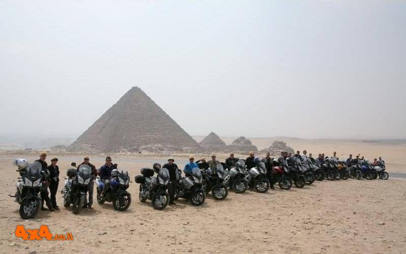 מצרים, 10 ימים: טיול אופנועי כביש הכי רחוק שיש