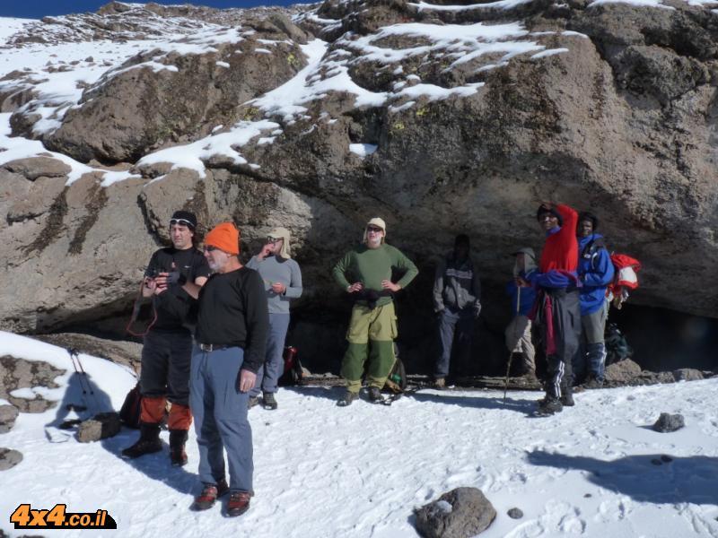 המערה- 5,300 מטרים מעל פני הים