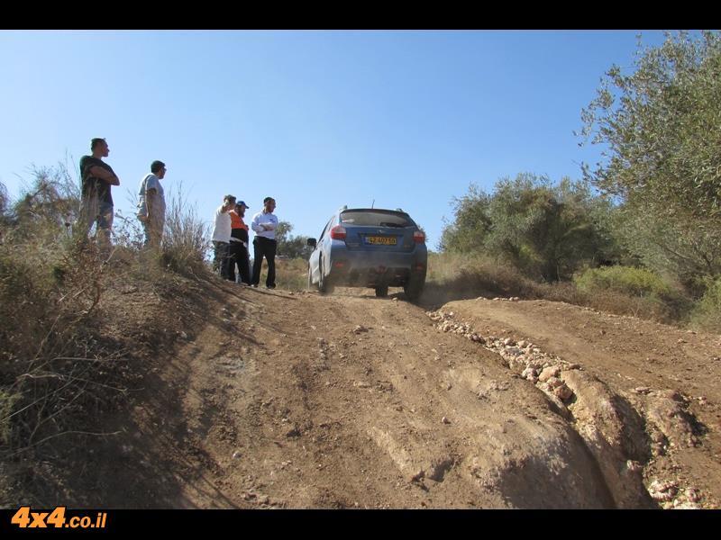 הדרכת נהיגה מועדון סובארו דרייב, יער בן שמן, אוקטובר 2014
