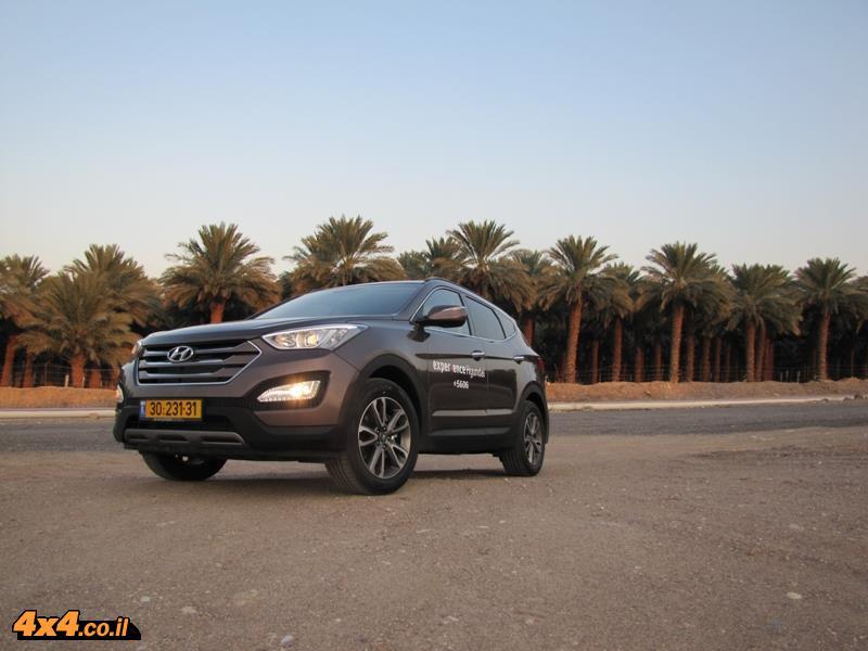 מבחן דרכים יונדאי סנטה פה Hyundai Santa Fe
