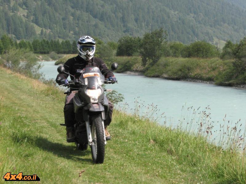 מסע אופנועים בצפון איטליה