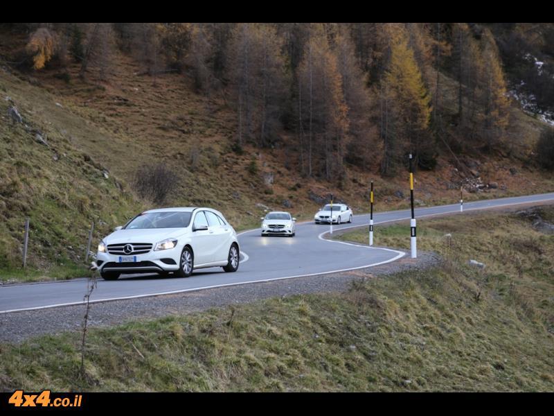 מסע מרצדסים לצפון איטליה - אוקטובר 2014