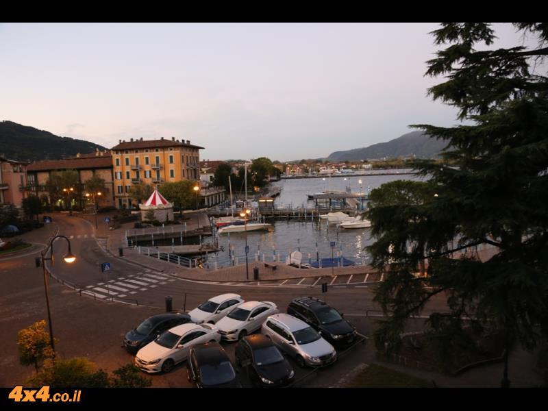 תמונות מהיום הרביעי מאגם איסאו למילאנו