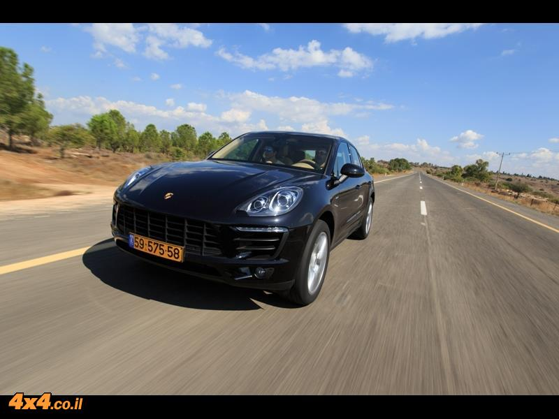 מבחן דרכים פורשה מקאן  Porsche Macan