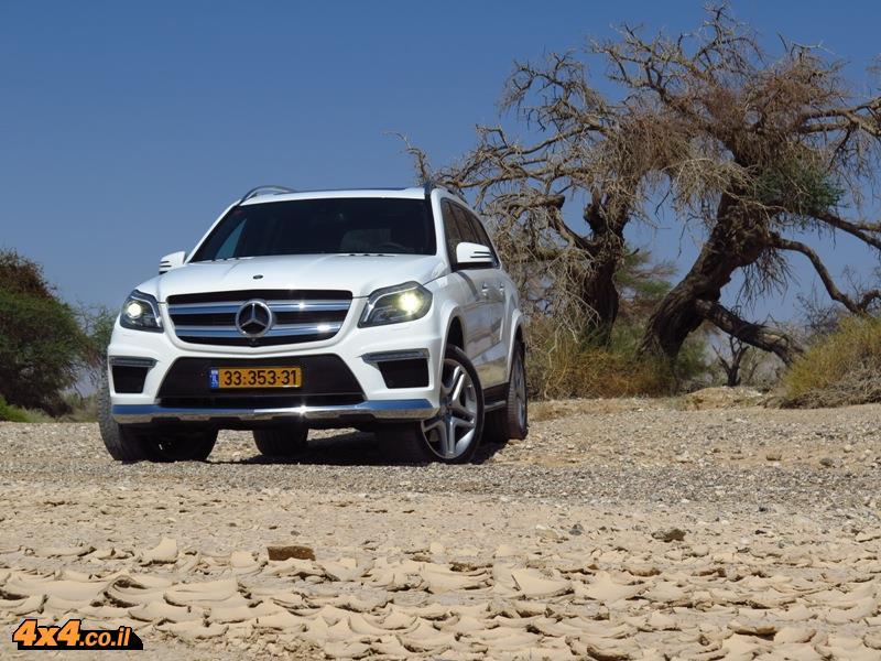 מבחן דרכים מרצדס Mercedes GL
