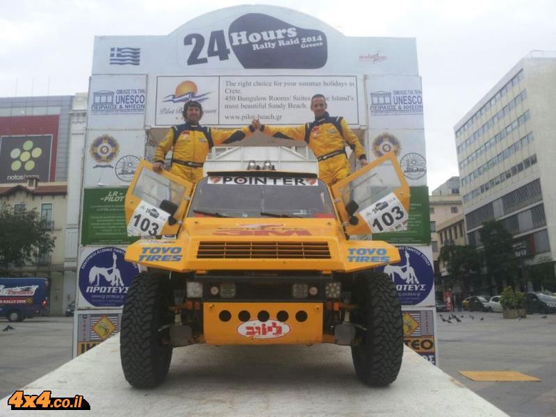 ניצחון לצוות 'פוינטר -3M' – רז הימן והלל סגל סיימו ראשונים בראלי 24 השעות של יוון