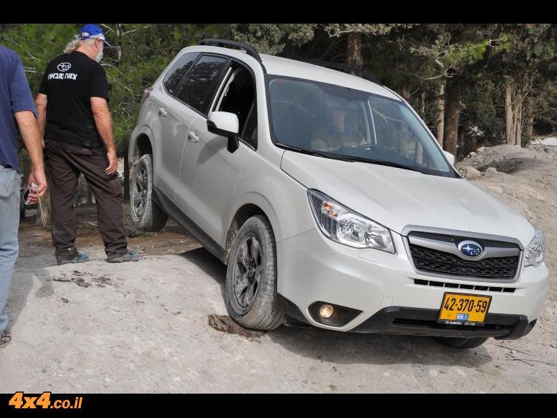 הדרכת נהיגה מועדון סובארו דרייב, הר חורשן, נובמבר 2014