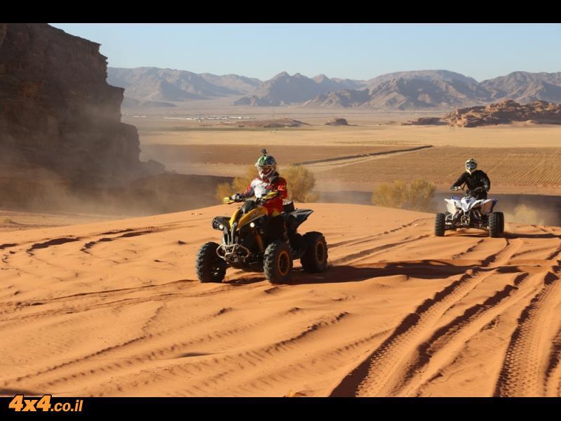 בדיונות של המדבר הדרומי - ואדי ראם