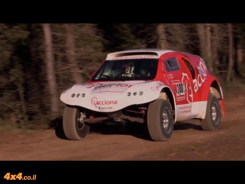 דקאר 2015: מכונית חשמלית תתחרה לראשונה בראלי