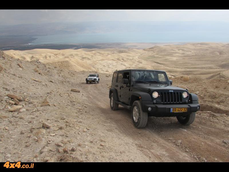 מועדון ג'יפ במדבר יהודה, חנוכה 2014, שיירת הרנגלרים