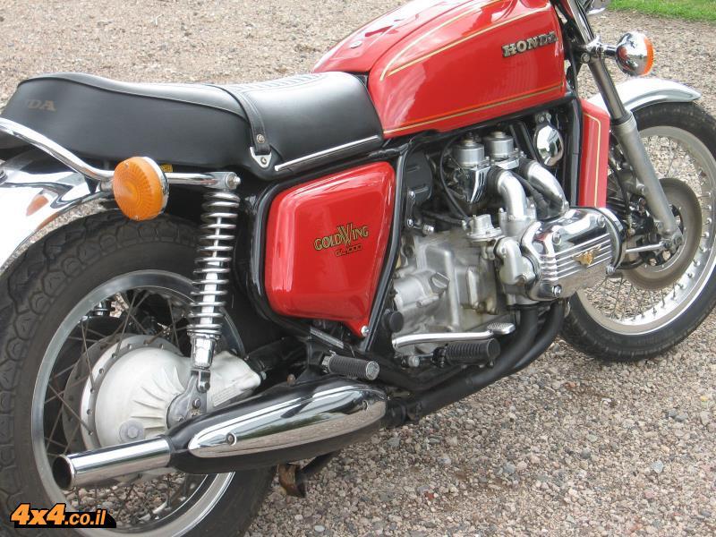 תמונת מוכר - כך נראה האופנוע ב EBAY
