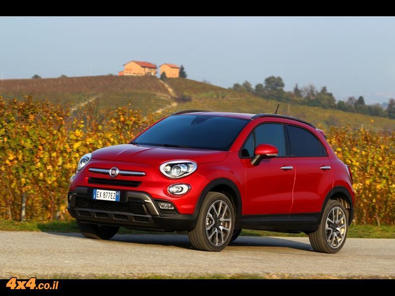 פיאט לשטח Fiat 500X - השקה