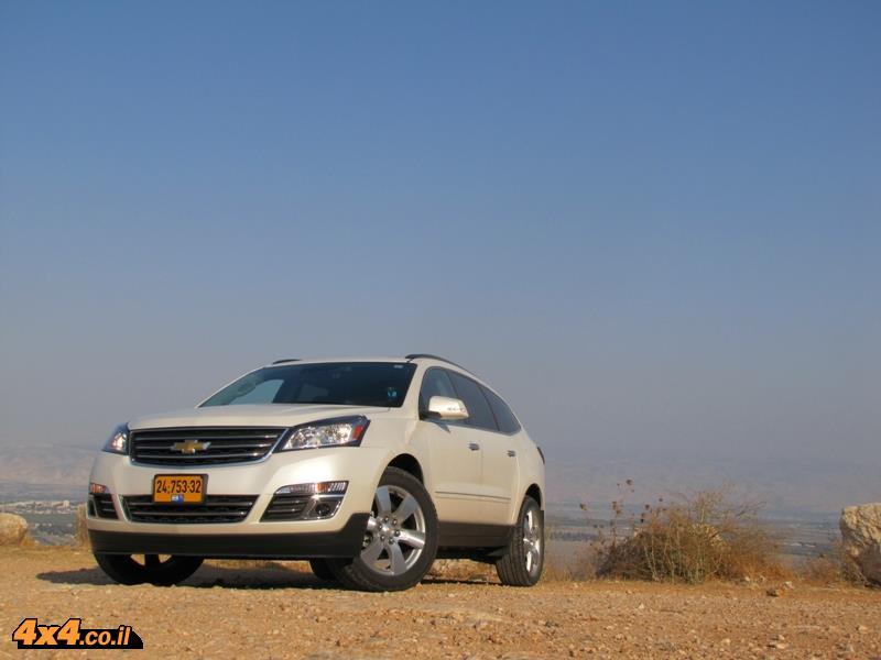 מבחן דרכים - שברולט טראוורס Chevrolet Travers