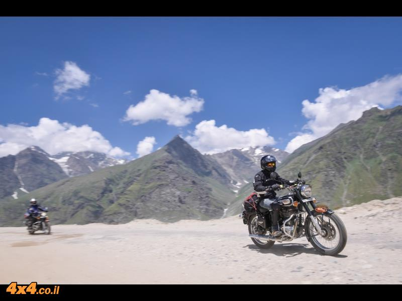 סרט ממסע האופנועים בהודו - אוגוסט 2014