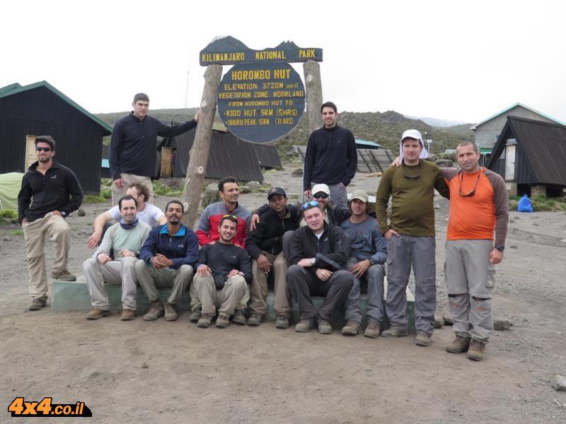 הורמבו - תחנת הבקתות השנייה בדרך לפסגה
