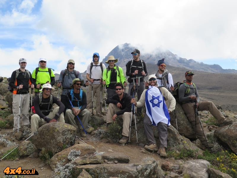 היום השלישי - מטפסים עוד 1,000 מטרים לאורך 10 קילומטרים הליכה