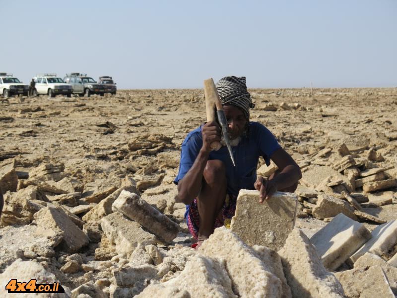 איש שבט האפר כורה מלח